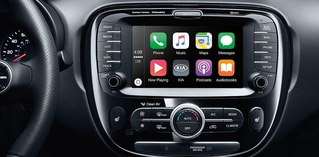 Technology in the 2019 Kia Soul
