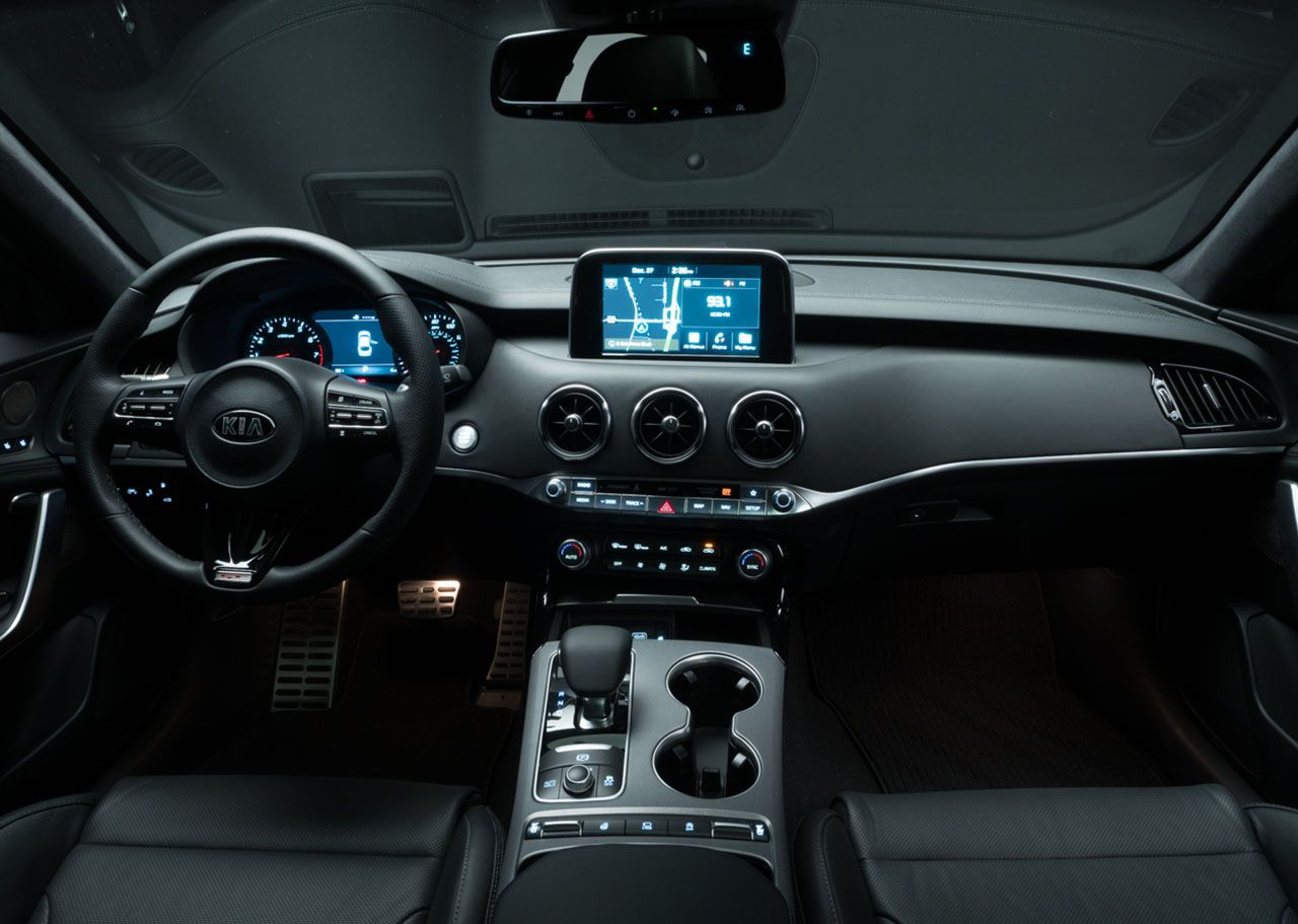 Interior of the Stinger