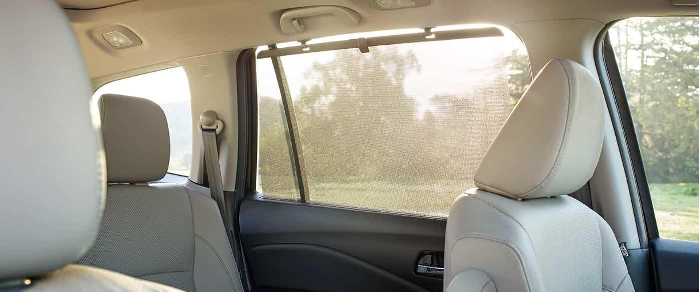 Interior of the Honda Pilot