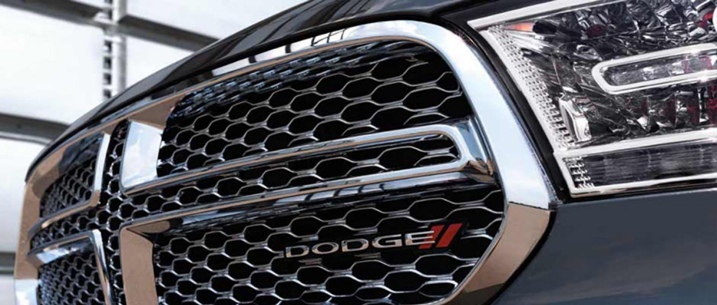 The Iconic Dodge Grille on the Durango