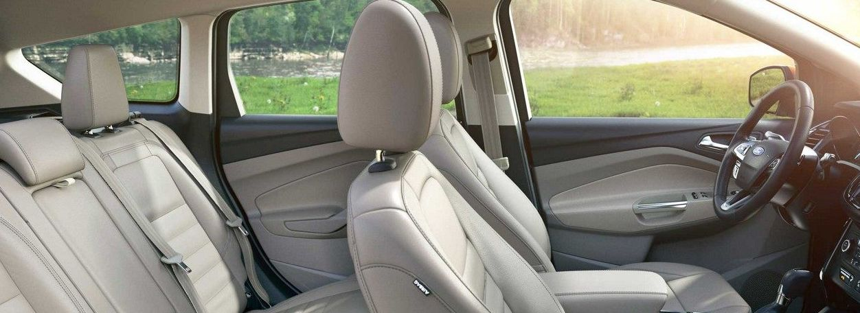 Luxurious Seating of the 2018 Ford Escape