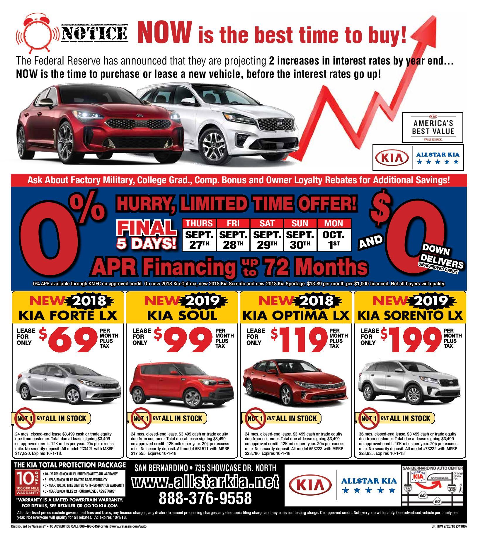 Current Ads Kia Coupons All Star Kia San Bernardino Allstar Jpg 1631x1838  Kia Ads