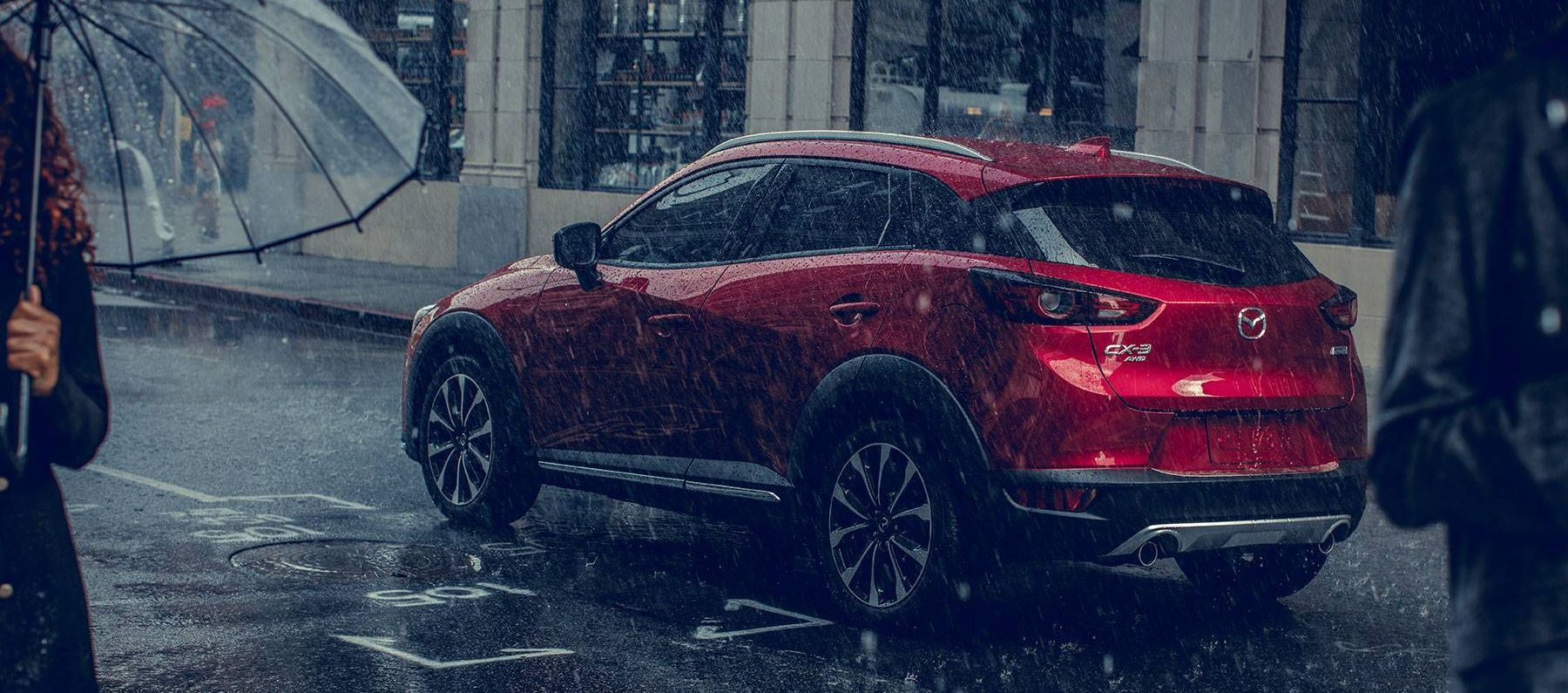 Grip Rainy Streets with the CX-3's Available AWD!