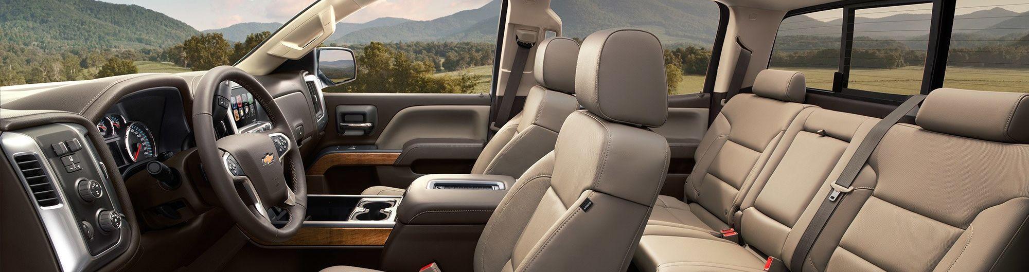 2019 Silverado 2500HD Interior Seating