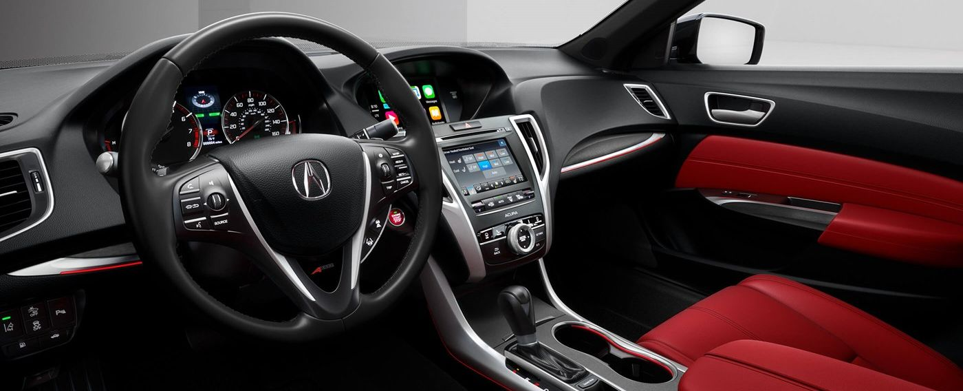 Luxurious Interior of the 2019 TLX