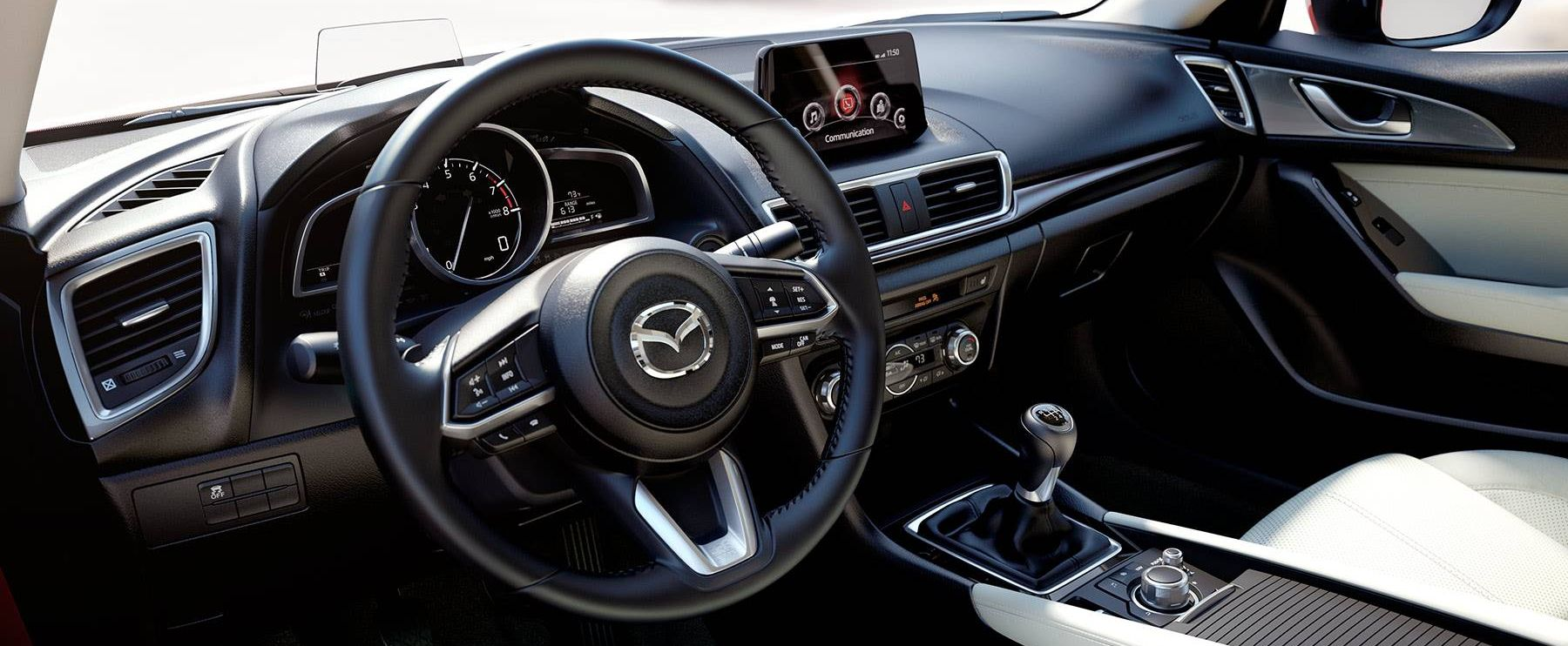 Engaging Interior of the 2018 Mazda3
