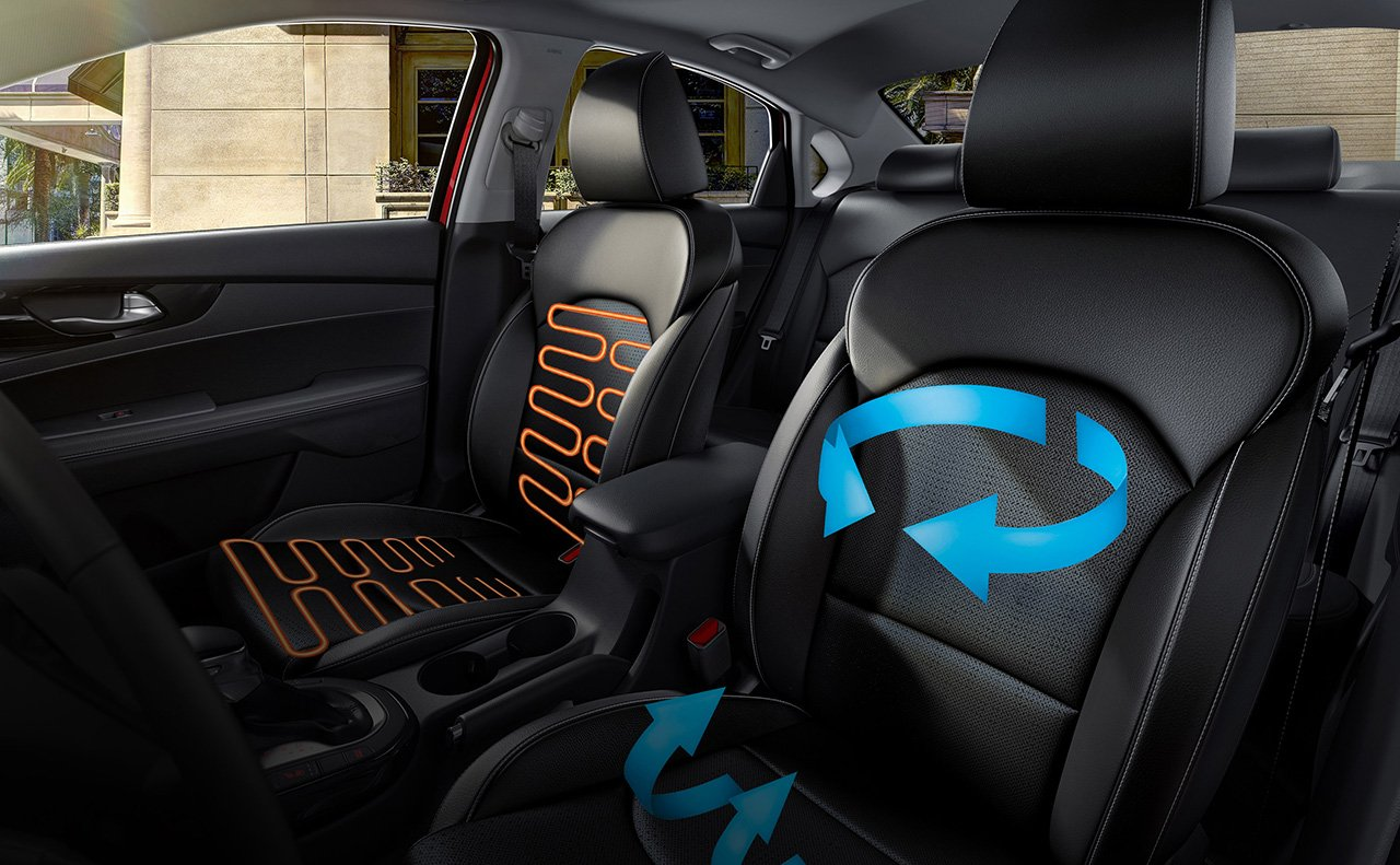Available Heated and Ventilated Front Seats!