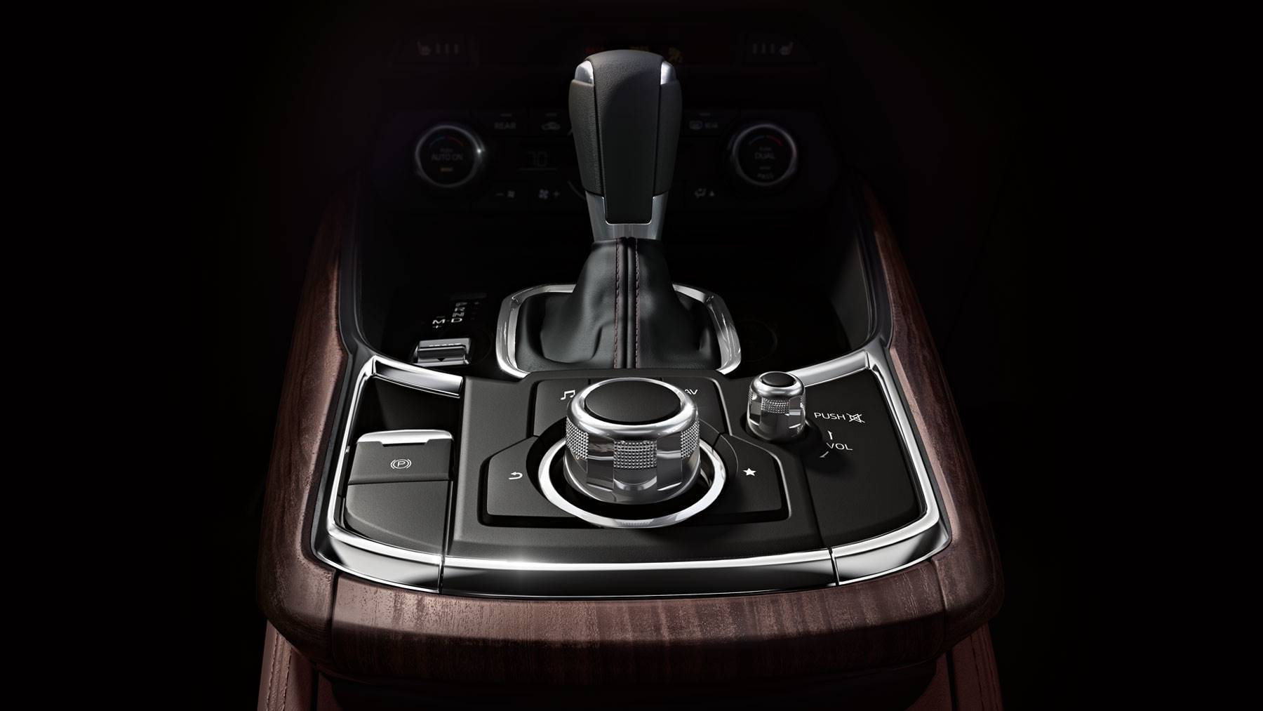 Stylish Interior Touches in the CX-9