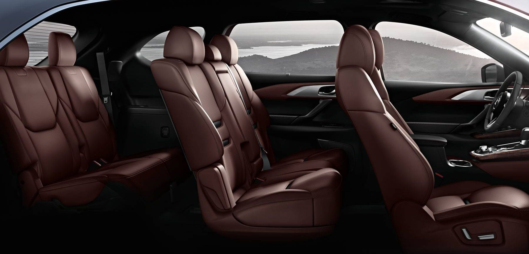 The CX-9 Has Plenty of Room for Passengers or Cargo!