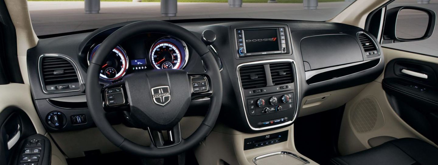 The Grand Caravan's Well-Appointed Interior