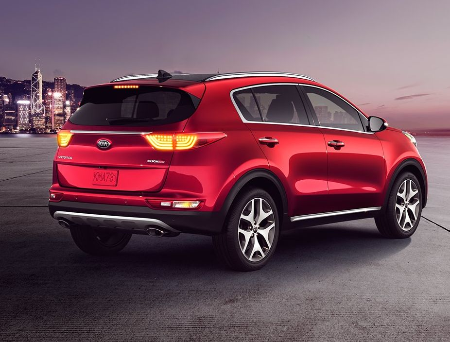 The Sportage's Eye-Catching Exterior