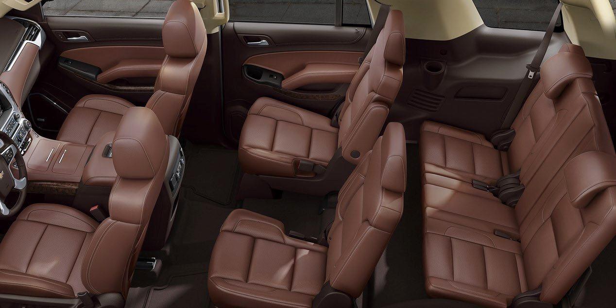 La Chevrolet Tahoe 2019 tiene espacio para acomodar hasta nueve personas