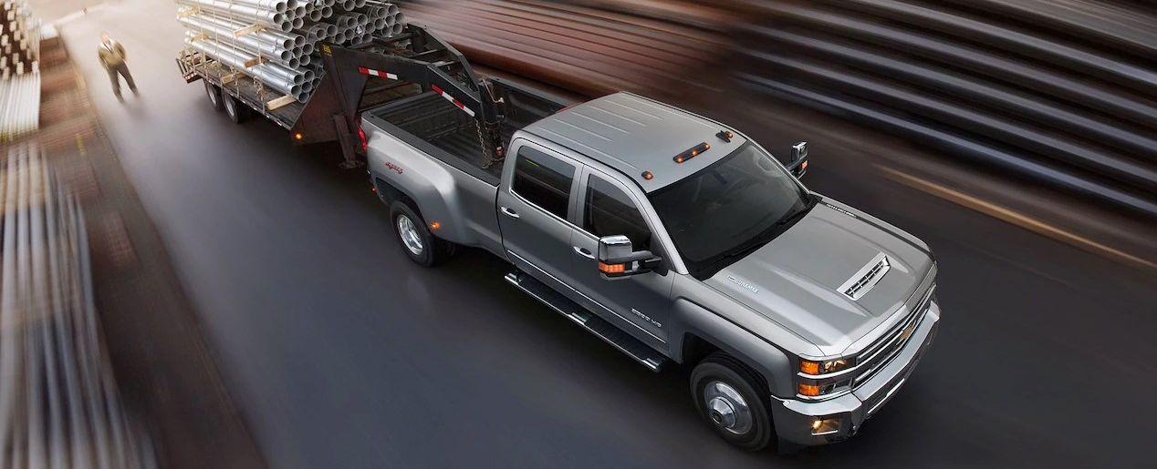 La poderosa Chevrolet Silverado 2500HD 2019 tiene una gran capacidad de remolque