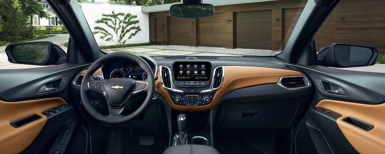 El interior de la Chevrolet Equinox 2019 es sofisticado, moderno y muy cómodo