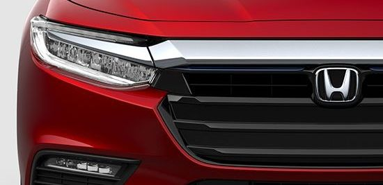 La parrilla del Honda Insight 2019 está diseñada para reducir pérdida de viento.