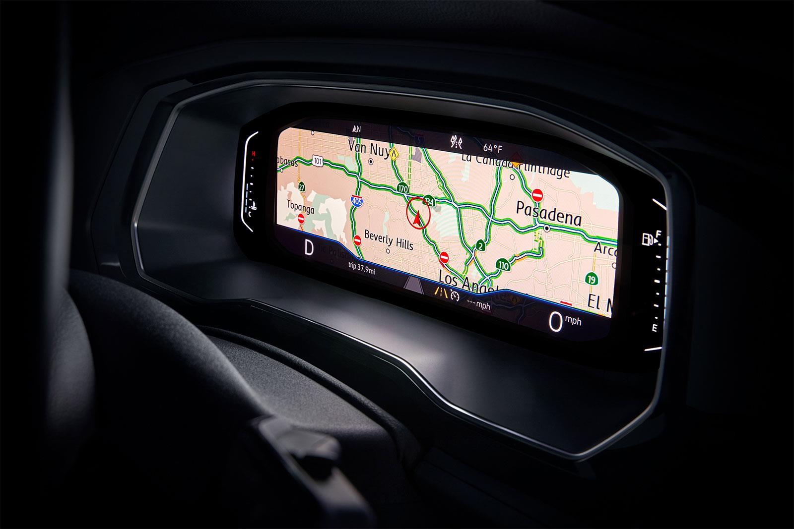 La pantalla digital disponible en el Volkswagen Jetta 2019