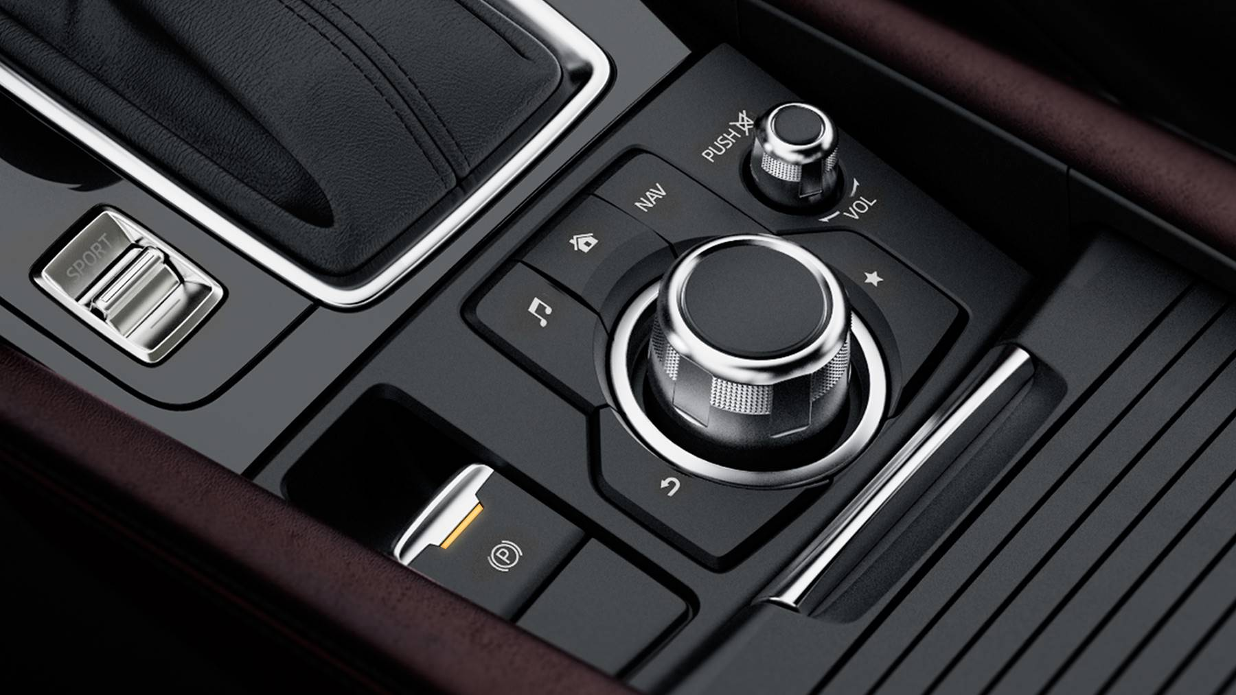 Conveniently Control All Your Technology in the Mazda3!