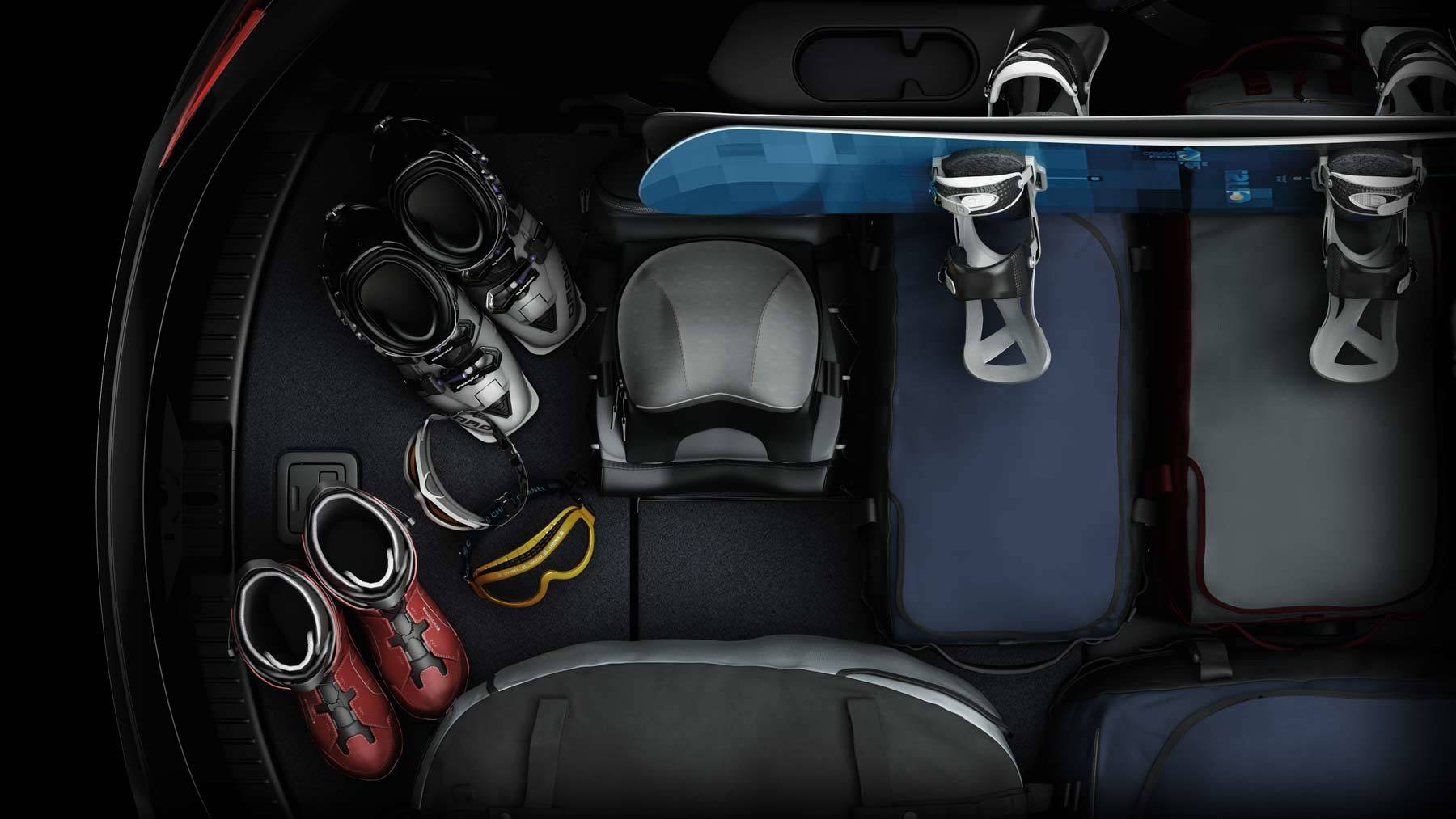 You'll Find Plenty of Space in the Mazda CX-9 for All Your Gear!