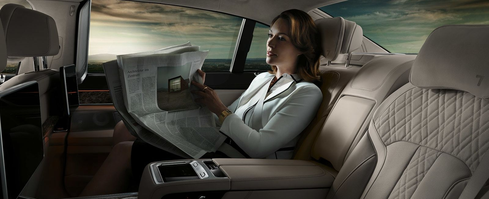 Enjoy the BMW 7 Series' Accommodating Cabin