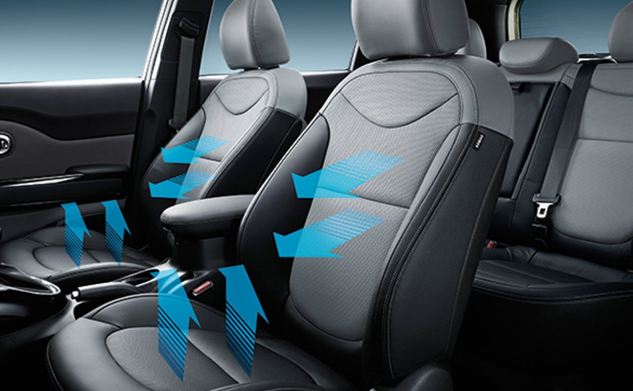 Available Ventilated Front Seats!