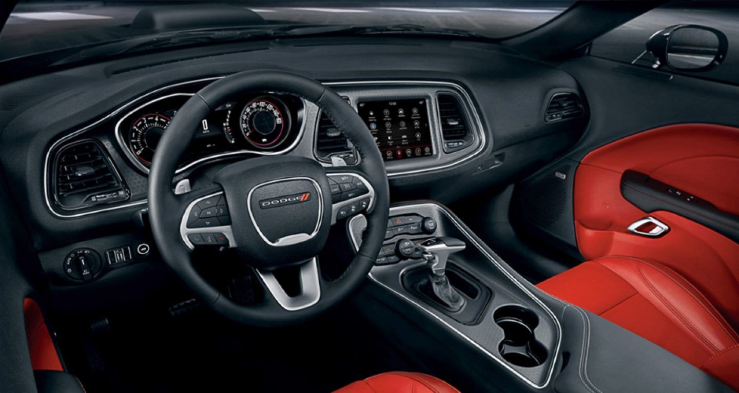 2018 Dodge Challenger Center Console