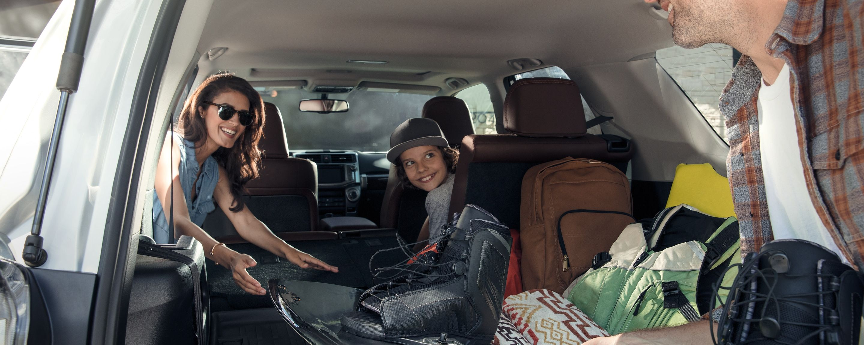 Spacious Interior of the 2019 4Runner