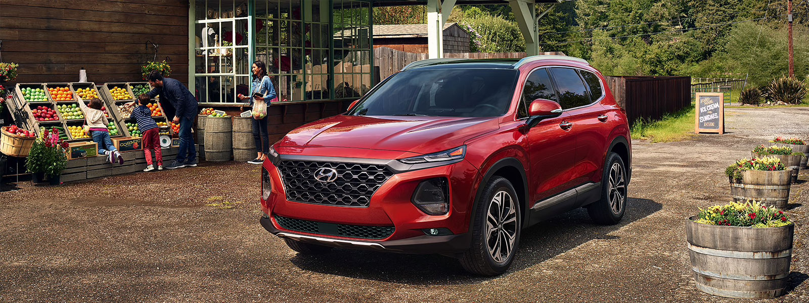 2019 Hyundai Santa Fe in Preston
