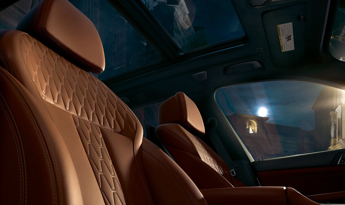 Enjoy Optimum Comfort During Any Drive in the X5!