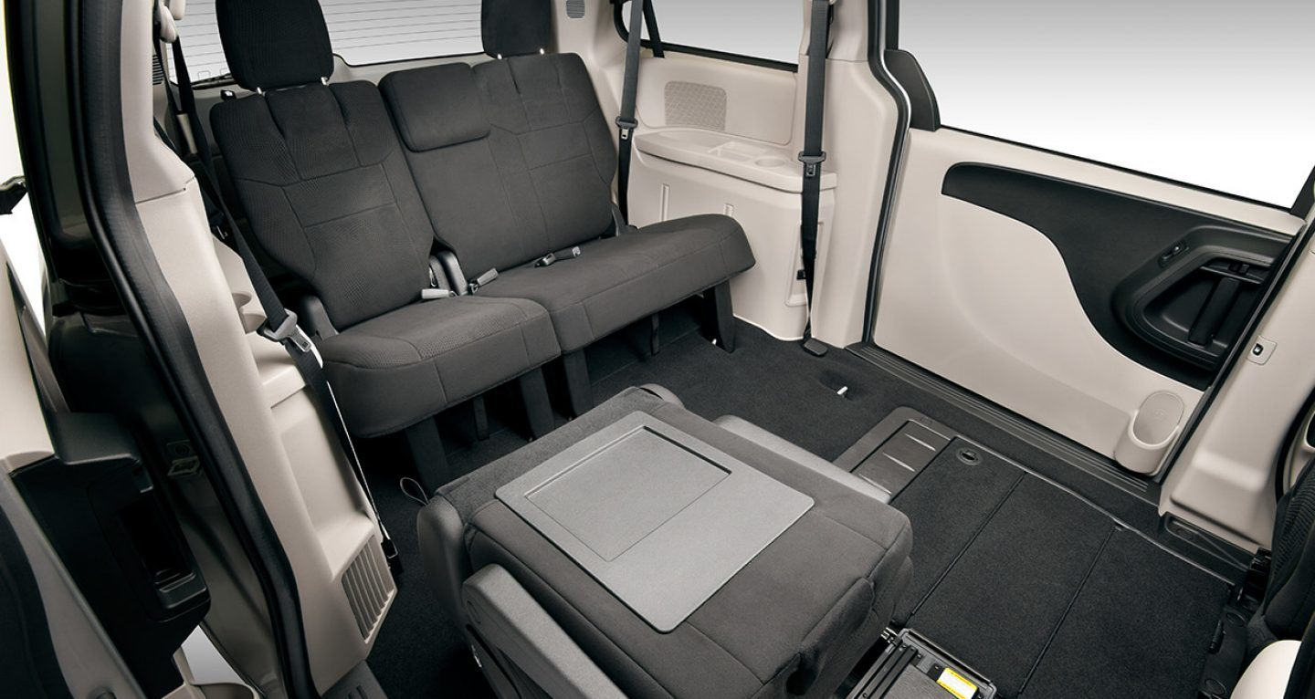 Enjoy the Spacious Interior of the 2019 Grand Caravan!