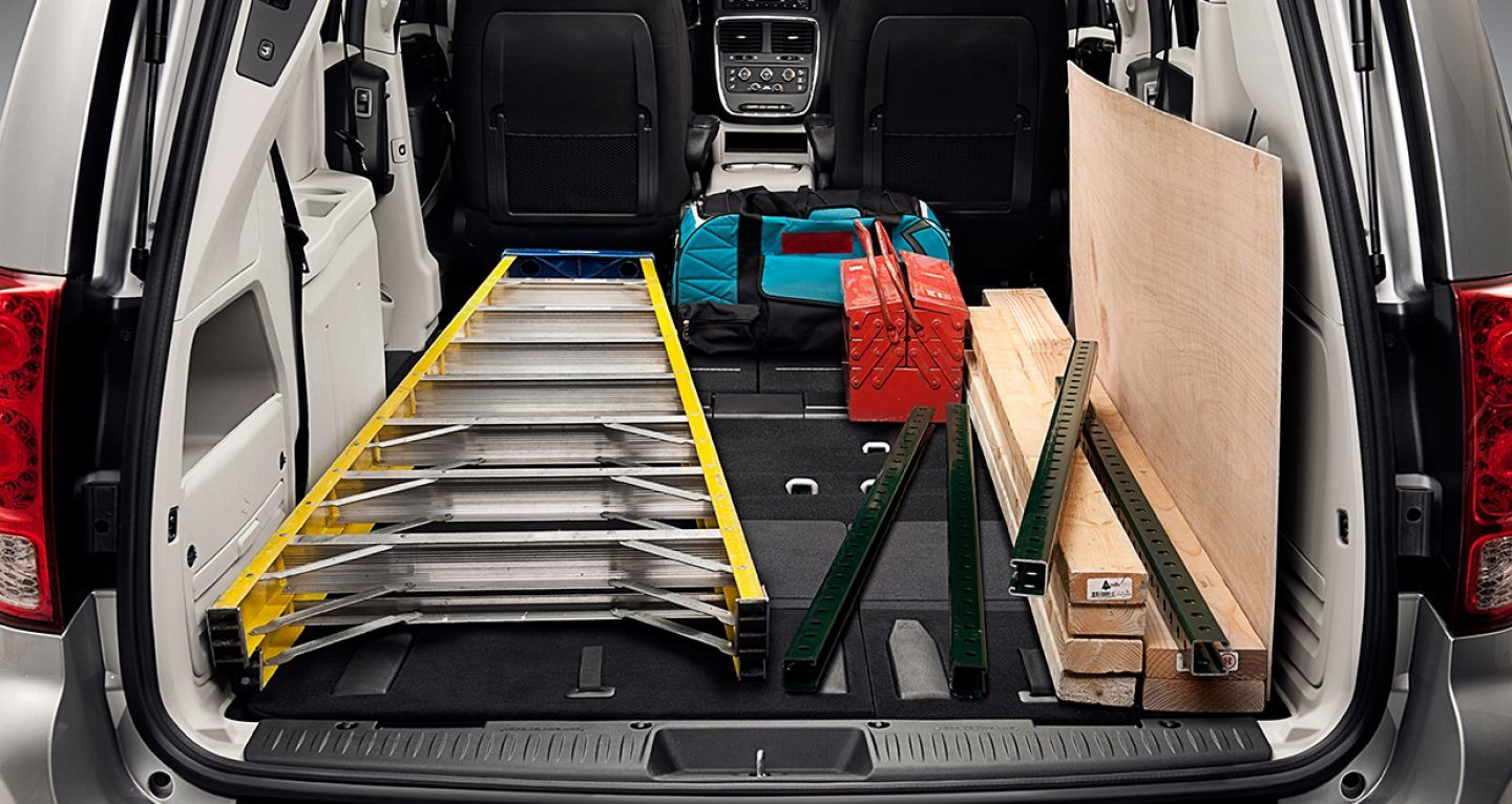 Transport Whatever Cargo You Need in the 2019 Grand Caravan!