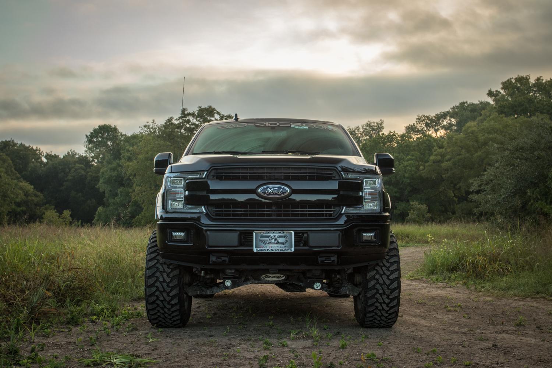 Diesel 2018 F 150 Lifted 4x4 Ford Lariat Truck Black Rad Rides