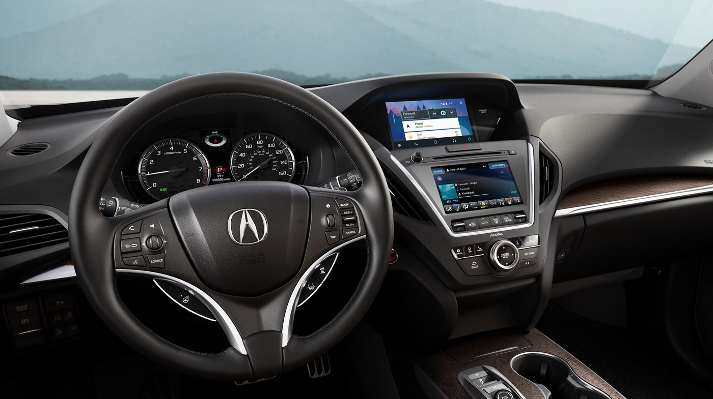 Advanced Technology in the 2019 Acura MDX