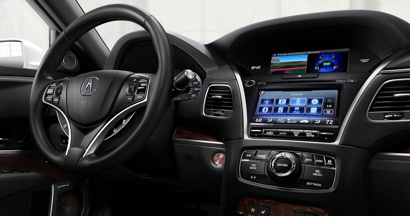 Take Command in the Acura RLX!