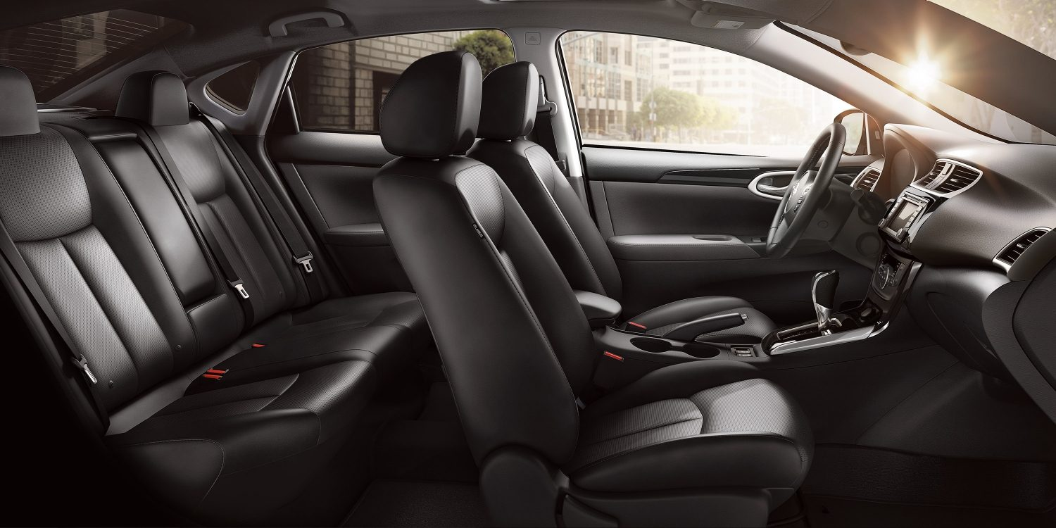 Spacious and Luxurious Seating in the Sentra!