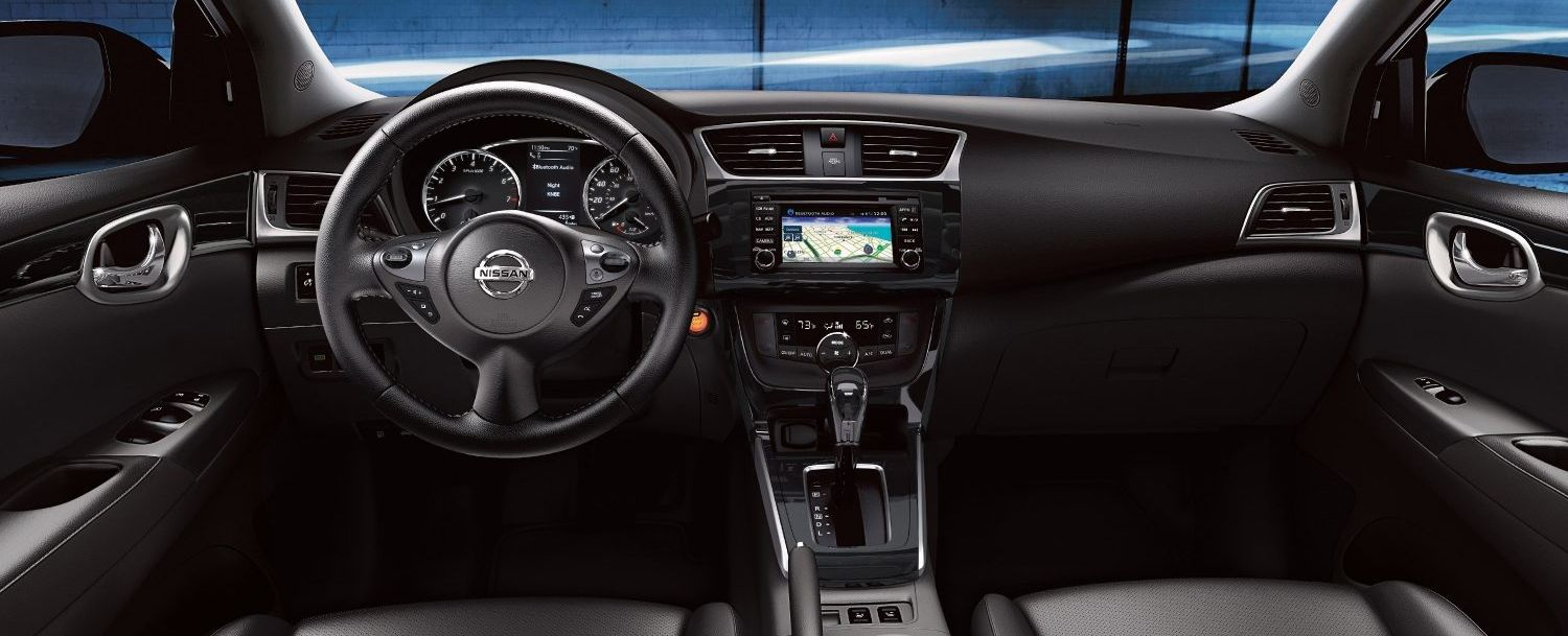 The Sentra's Modern Dashboard