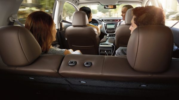 Spacious Capacity in the Murano!