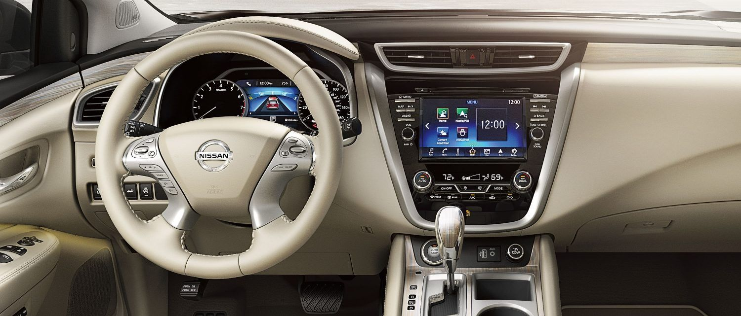 Luxurious Detailing on the Murano's Dashboard