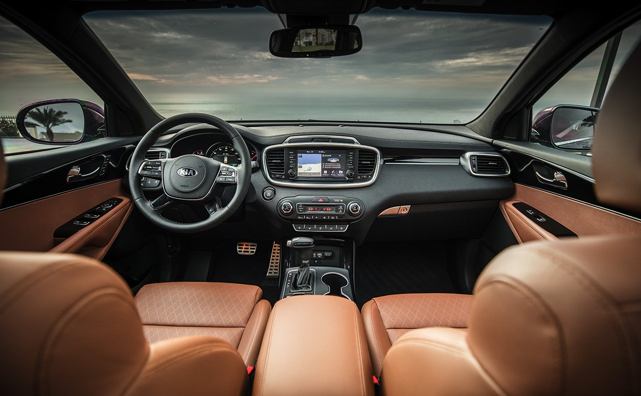 2019 Sorento Front Seating and Cockpit