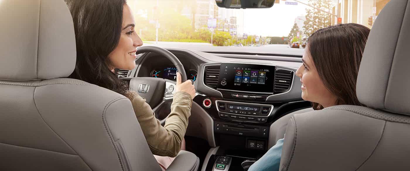 2019 Honda Pilot Front Seats