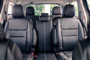 2019 Toyota Sienna passenger space