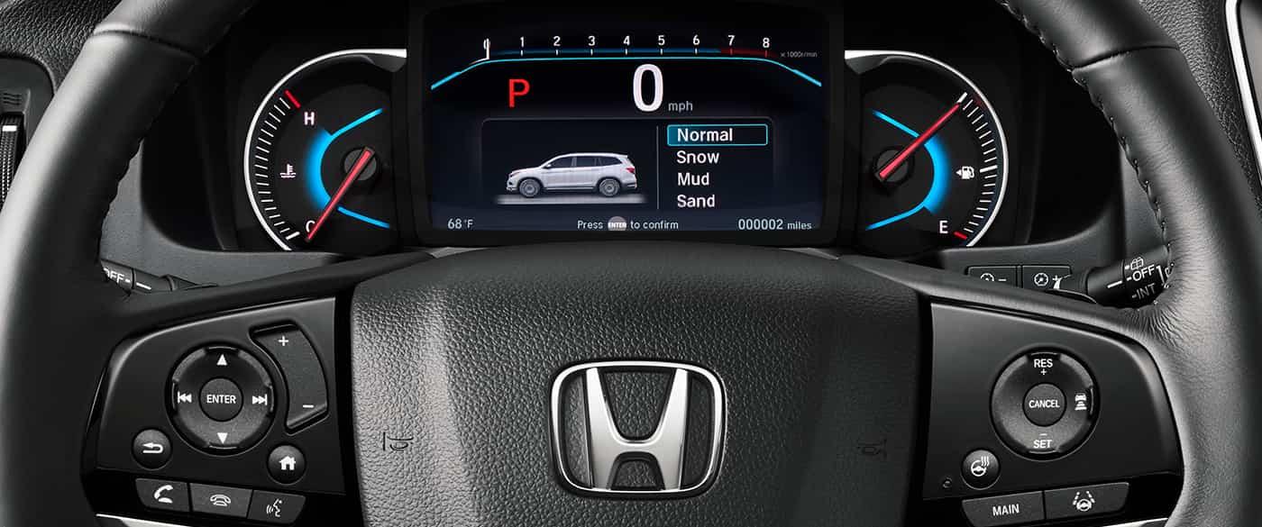 2019 Honda Pilot HUD