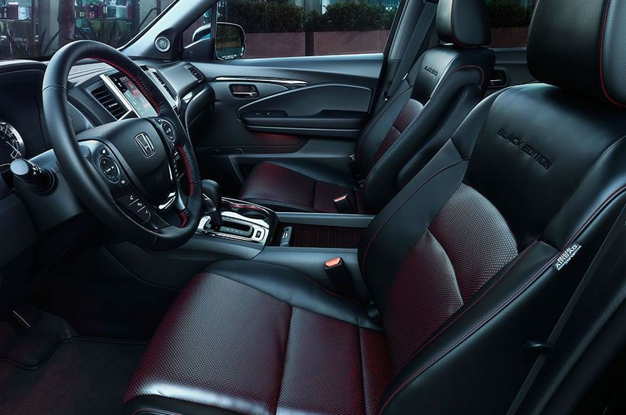 The Ridgeline's Stylish Interior