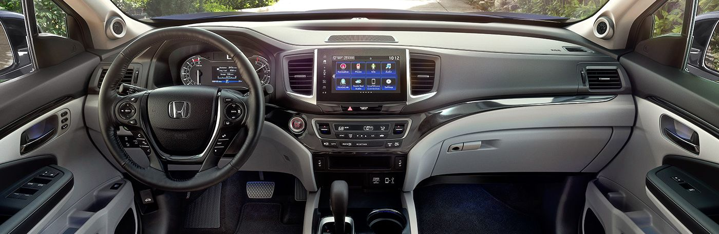 The Ridgeline Is Loaded with Technology Features!