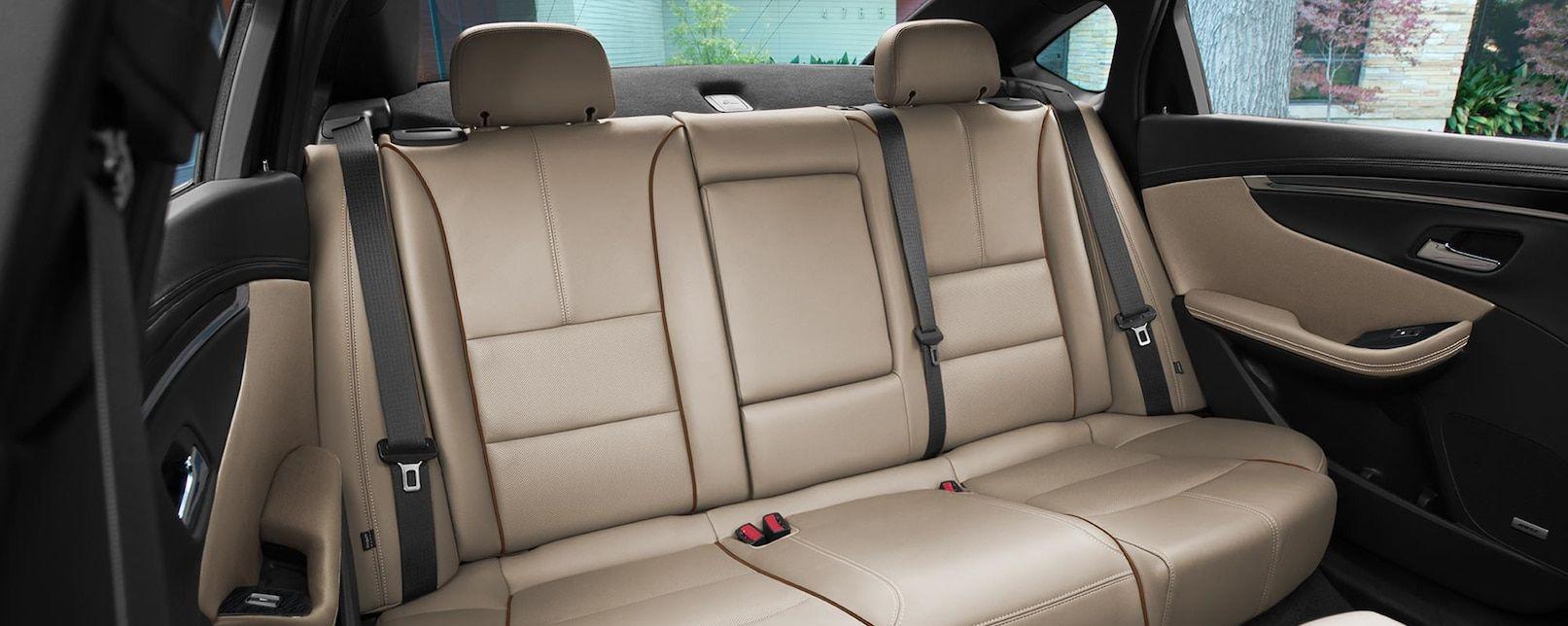 Cozy Rear Seats in the Chevrolet Impala