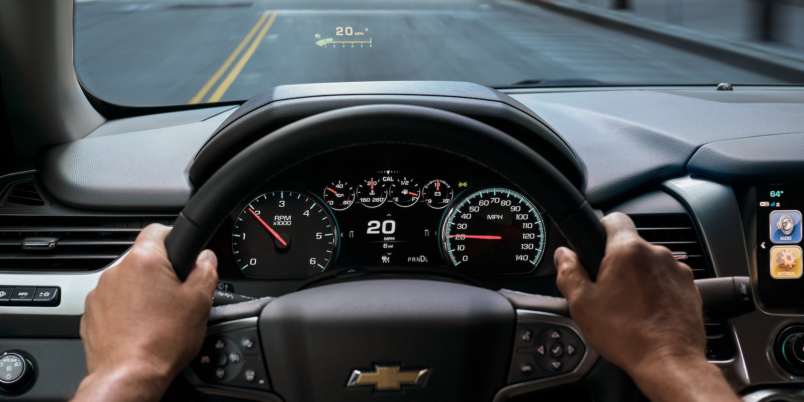 Rule the Road in the 2019 Tahoe
