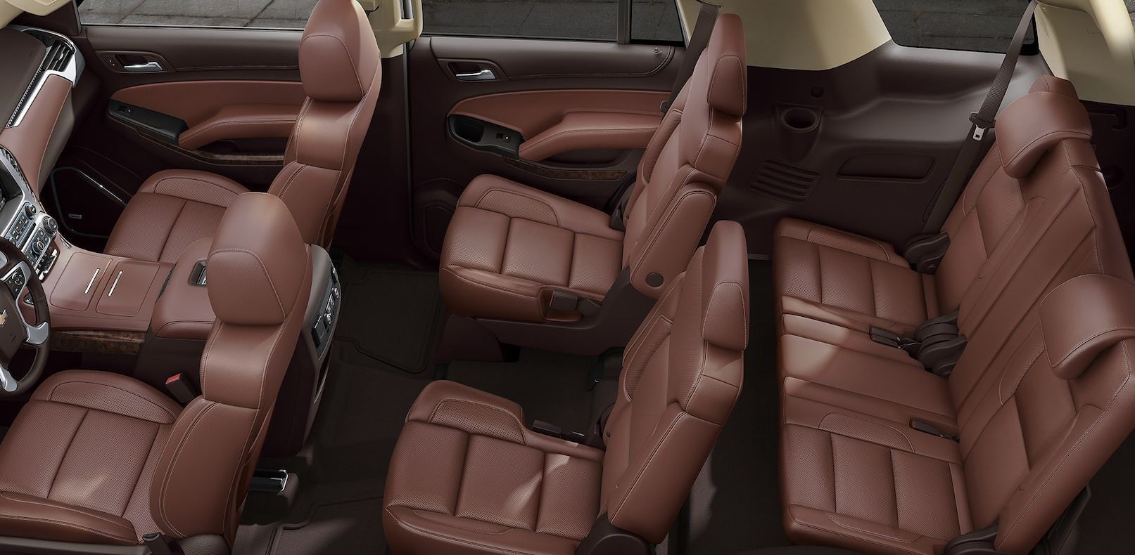Seating in the Chevy Tahoe