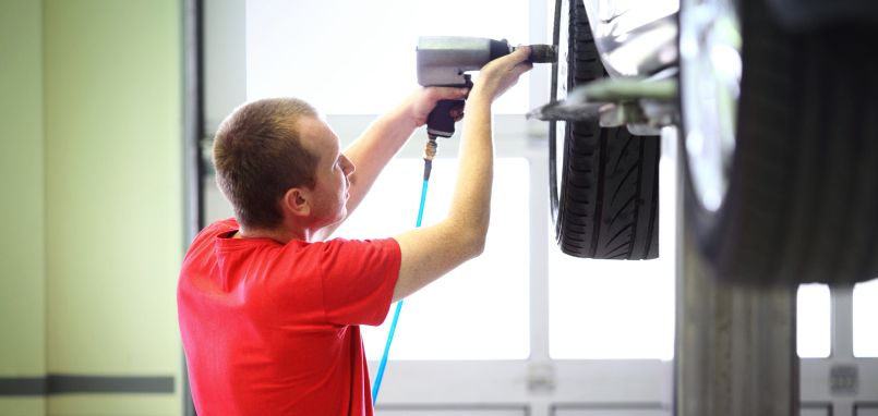 Tire Rotation Service in Jackson, MI