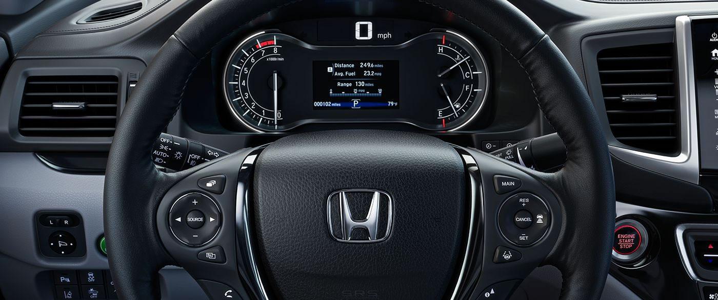 2019 Honda Ridgeline HUD