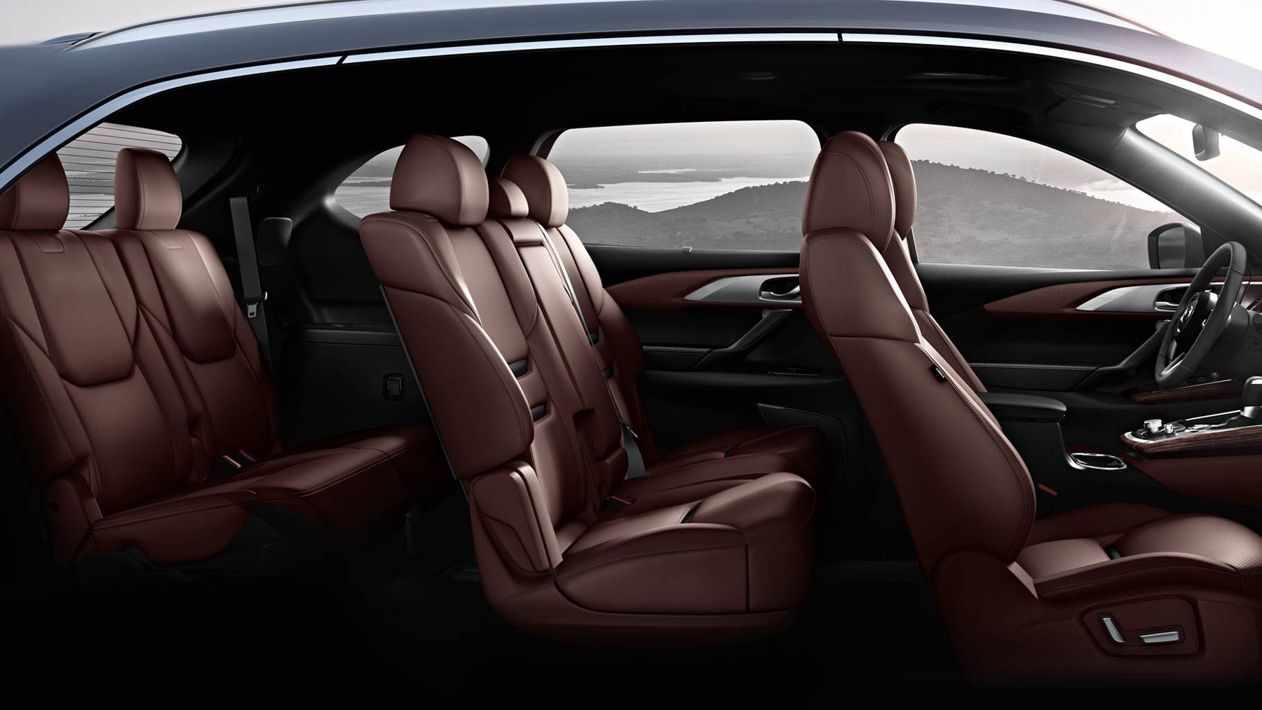 Spacious Interior of the 2018 Mazda CX-9