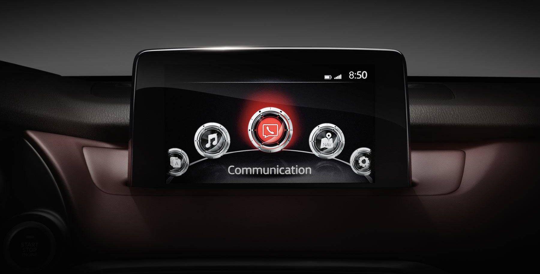 Infotainment in the 2018 Mazda CX-9